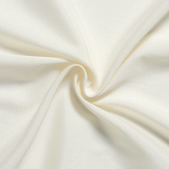 Event Decor White Rectangle Table Skirt , Bridal Showers Dining Table Cover